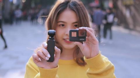 谁才是真正的Vlog神器?GoPro HERO7 vs OSMO Pocket对比体验