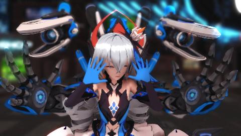 【崩坏3MMD】替身使者(雾)律化鸭和她的重装小兔[ Warrior ]这你还想舔?