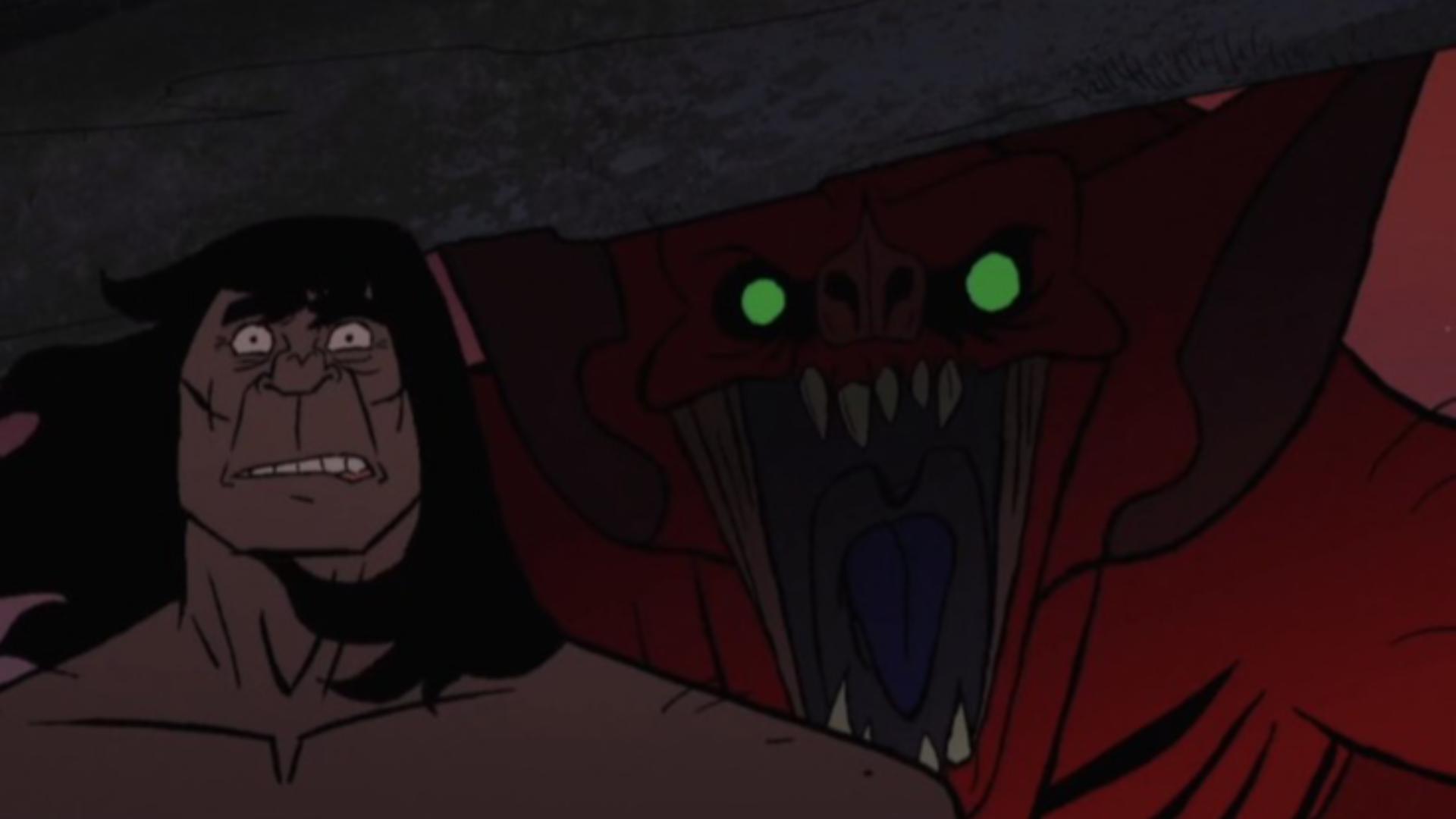 孤悬的峭壁上,硬汉遇到一只比龙大的蜘蛛,他赢了