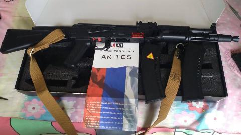 【水弹发射器】AKA(原CP)AK105开箱