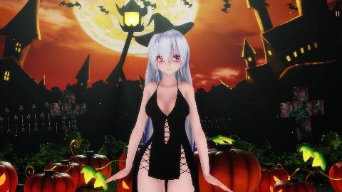 [MMD]Happy Halloween(万圣节快乐!)