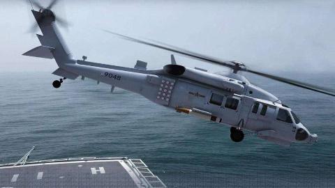 直-20舰载机曝光,性能优于黑鹰,近期已首次被055大驱搭载