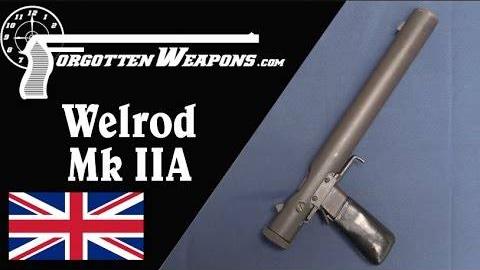 【被遗忘的武器】于无声处挨枪子--维尔德 Mk IIA消音手枪结构分析