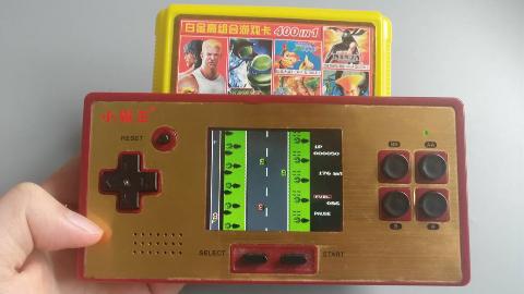 游戏掌机竟能插大黄卡!童年黑科技?