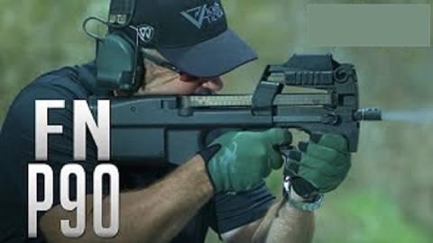 【搬运/已加工字幕】FN P90 5.7毫米冲锋枪