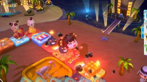 《大富翁10》热斗模式游戏实况 看我把孙小美炸飞飞