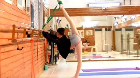 一字马系列04:芭蕾舞蹈生花絮
