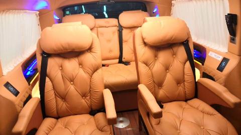 最靓的奔驰V260L改装是啥样?这样改装商务车太完美!