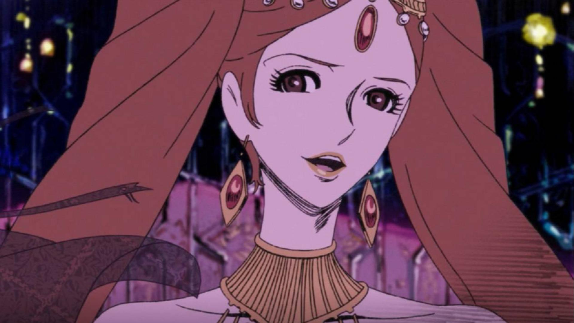 动画中最经典的御姐鼻祖,万千宅男为她着迷,无法被超越的经典