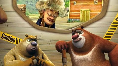 让我们来看看在熊出没第一季中强哥的精彩表现(含倒放)