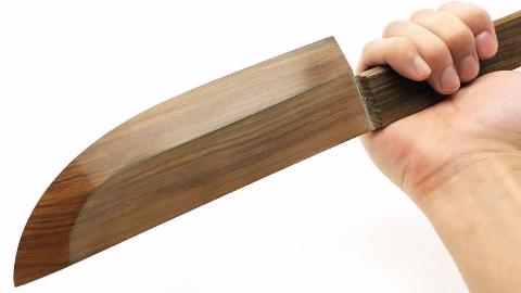 【万物即可为刃】做一把世界上最锋利的木制厨刀