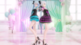 《MMD》初音ミク × 弱音ハク[Dive To Blue]
