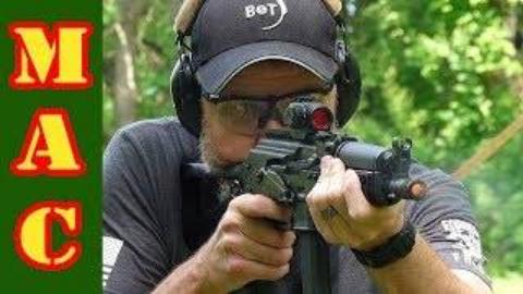 "[MAC]KR9美版PP-19-01""勇士""冲锋枪"