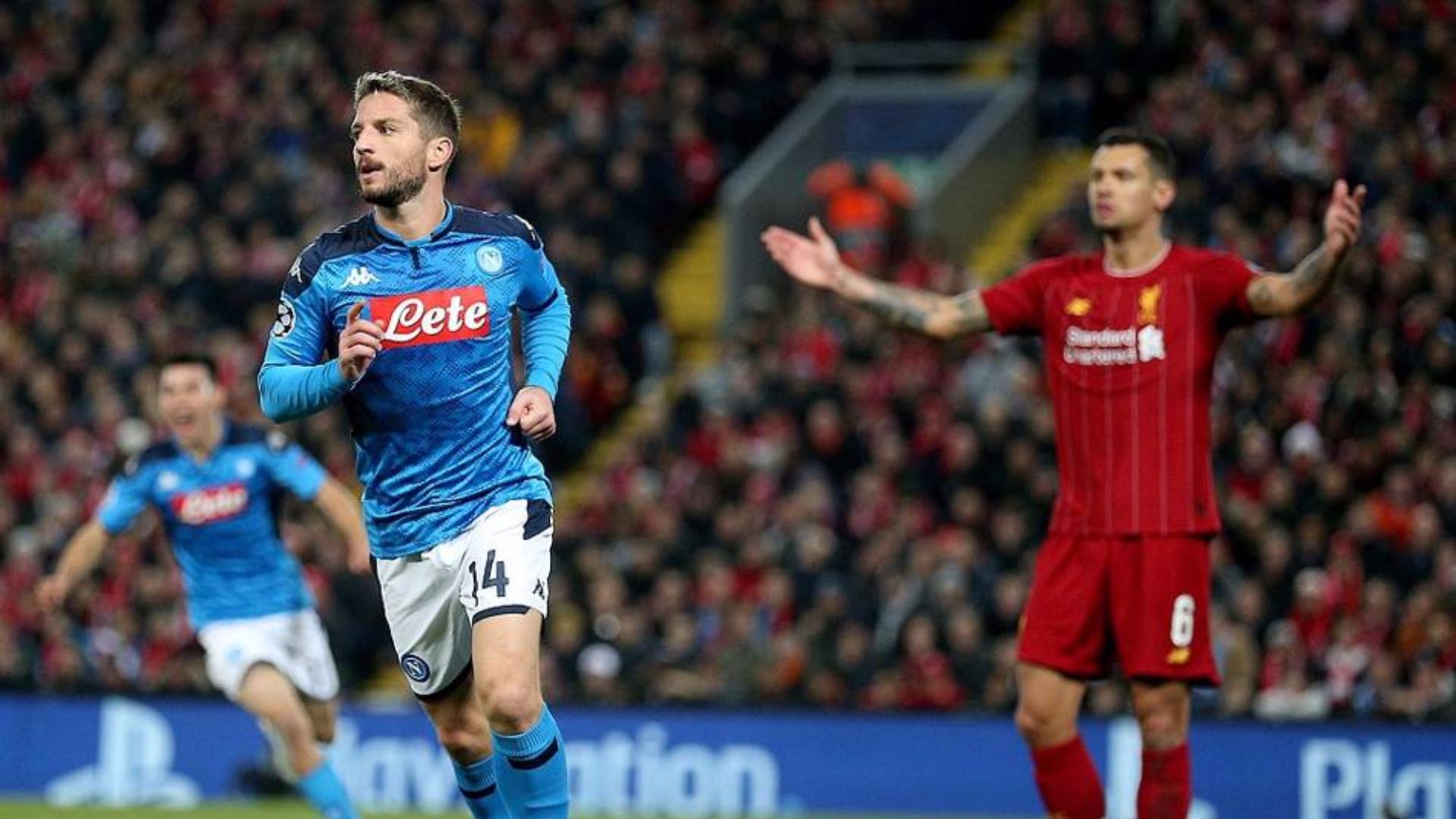 2019-2020赛季欧冠小组赛第5轮 利物浦vs那不勒斯 全场集锦