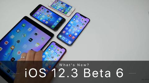 【@zollotech】苹果 iOS 12.3 Beta 6 开发版系统综合评测