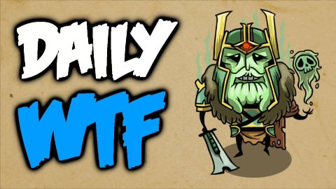 Dota 2 Daily WTF - Death is my...