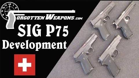 【被遗忘的武器/双语】西格P220 (P75军用手枪) 发展史介绍