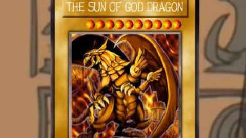 [ 游戏王 ] 最高阶级的神之卡,太阳神的翼神龙 The Winged Dragon of Ra