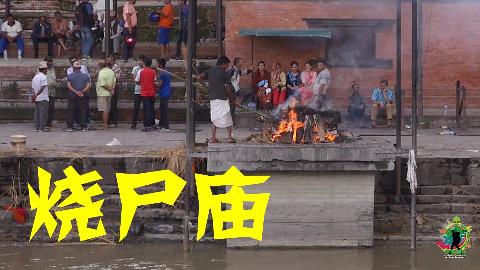 探秘尼泊尔的烧尸庙,空气中弥漫着奇怪的味道,令人心情沉重
