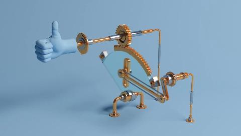 这个C4D动力学教程 教你做各种好玩的机械装置