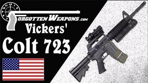 【被遗忘的武器/双语】拉瑞维克斯的三角洲柯尔特723型卡宾枪