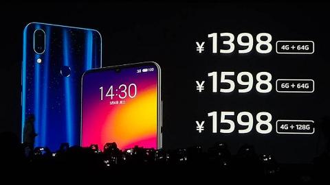 魅族Note9国内正式首发骁龙675,售价1398元起