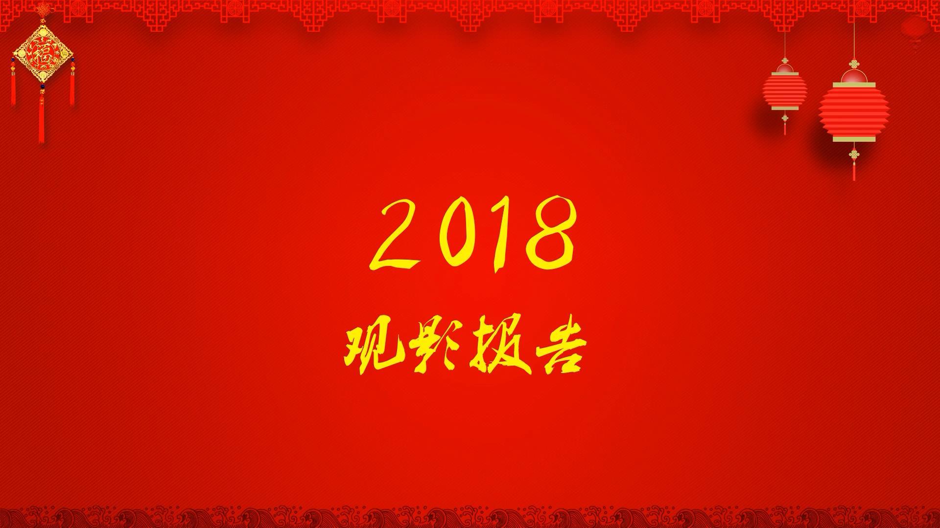 【赛强】2018观影报告
