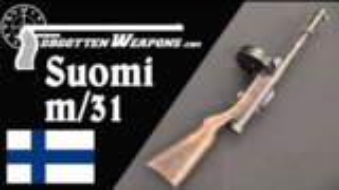 【被遗忘的武器/双语】索米m/31--芬兰的杰作冲锋枪彻底剖析