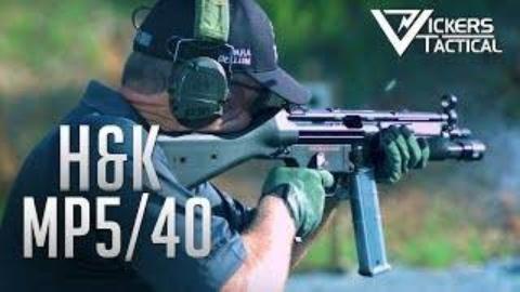 【搬运/已加工字幕】HK MP5/40 冲锋枪