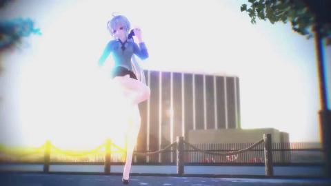 【MMD】弱音 ハク——Girls Haku 4KUHD