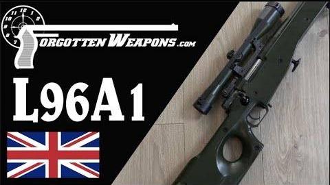 【被遗忘的武器/双语】L96A1狙击步枪历史介绍