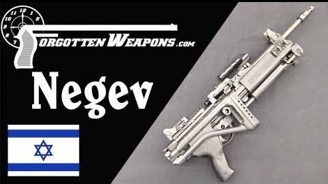 【被遗忘的武器/双语】内格夫轻机枪-以色列人改进的米尼米介绍