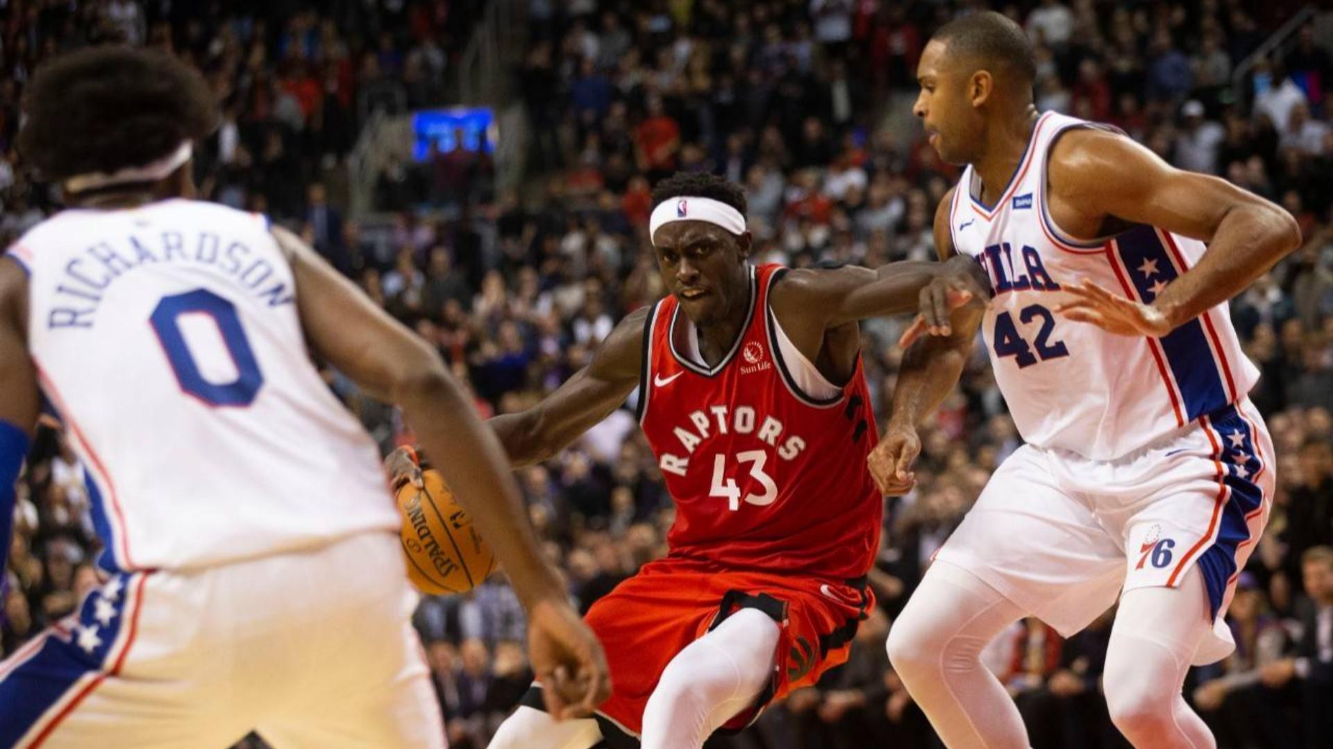 2019-2020 NBA常规赛 多伦多猛龙 VS 费城76人 集锦
