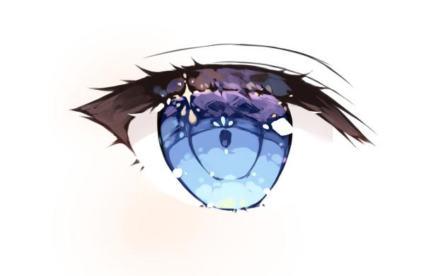 【绘画教程】通透眼睛的简单小教程(讲解含糊不清orz)