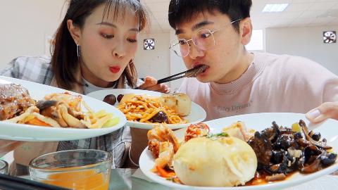 国家级运动员的食堂,到底都吃什么?海参自助随便吃??