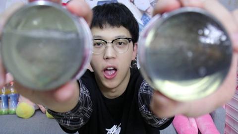 日本500一罐的珍珠蚌罐头 小伙一下子买了两个