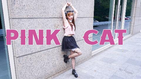 【毛巾】PINK CAT  生日作