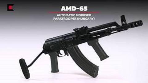 【搬运/已加工字幕】AMD-65突击步枪 基本介绍
