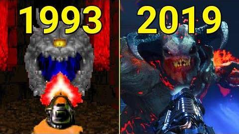 《DOOM》系列游戏进化史(1993-2019)