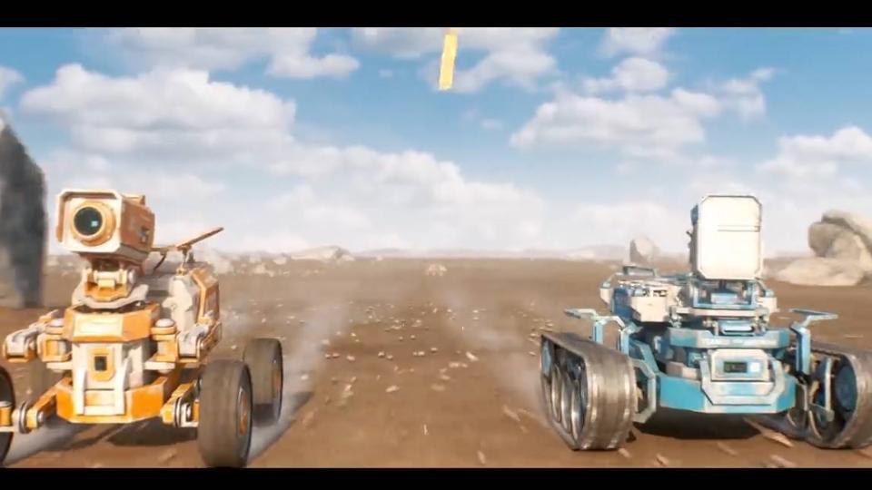 DUST机器人科幻短片-未知星球