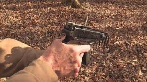 [hickok45]林间漫步——蝎式冲锋枪