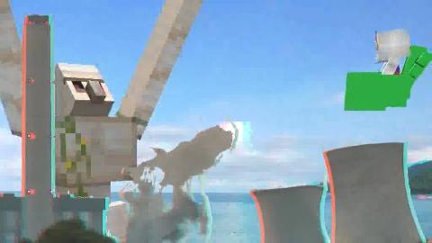 《動不動就動漫~高達篇》01「高達! 躺下了」3D