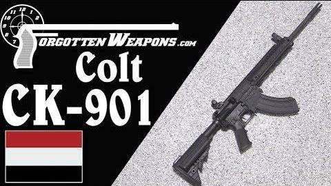 【被遗忘的武器/双语】柯尔特CK901--也门专供的762AR