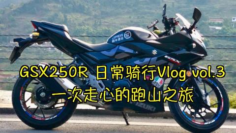 GSX250R 日常骑行Vlog vol.3 记一次走心的跑山