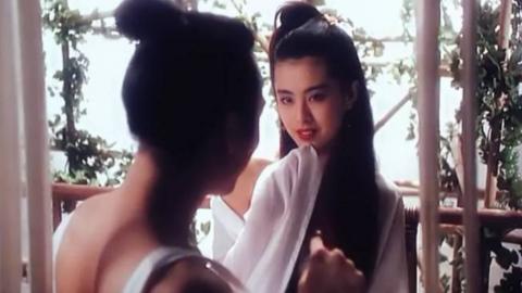 王祖贤这部当年骂声一片的电影 片中她美到让人窒息 真是百看不厌