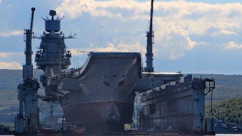 霸气!中国向俄罗斯推销浮船坞,广告词:美国海军连续使用多年