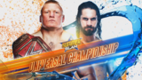 [WWE 2K19]夏日狂潮2019:布洛克·莱斯纳 vs. 赛斯·罗林斯  环球冠军赛
