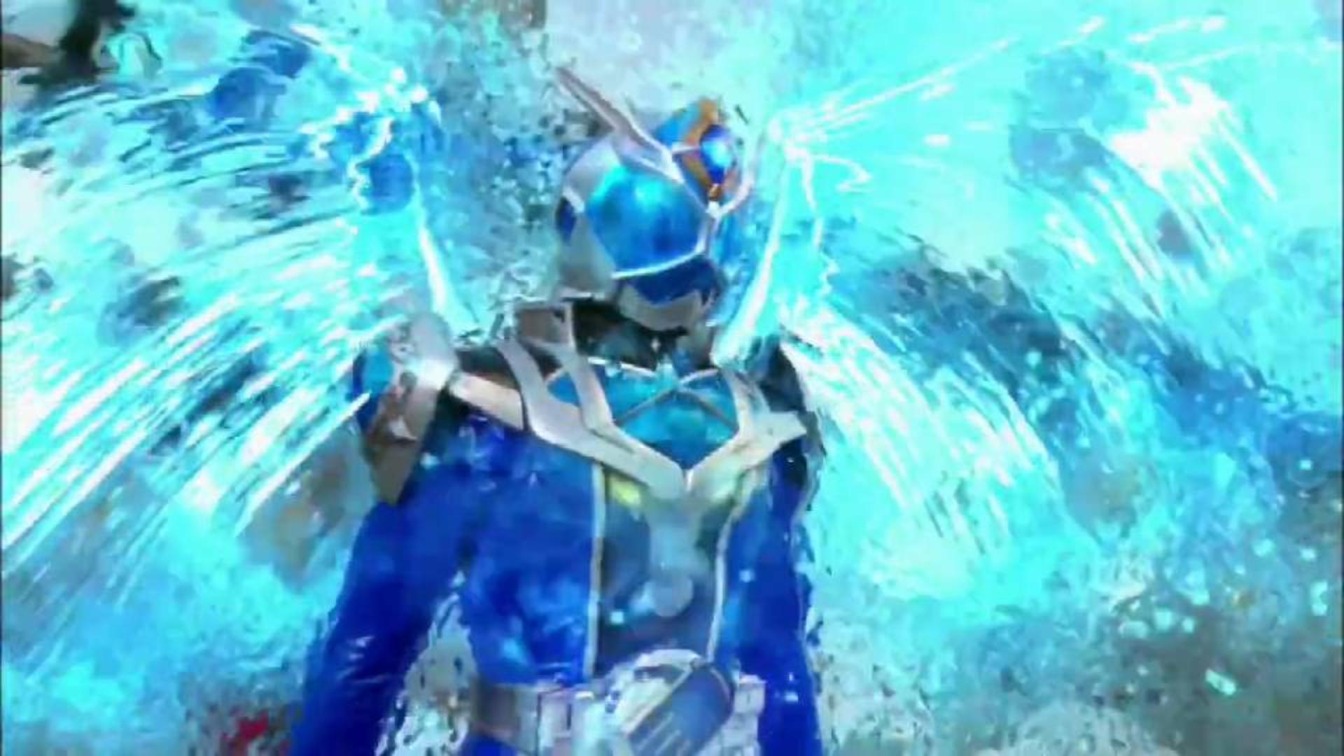 【假面骑士Wizard】流水魔龙形态变身剪辑