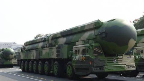 以理服人!东风41洲际导弹正式亮相:1.4万公里射程、10枚分导弹头