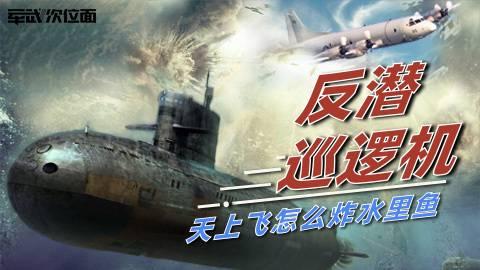 【军武次位面】反潜巡逻机 天上飞怎么炸水里鱼